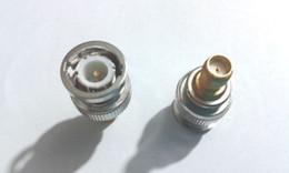 Wholesale Male Bnc Connectors - 40pcs BNC Male to SMA Female Plug Coax Adapter Connectors