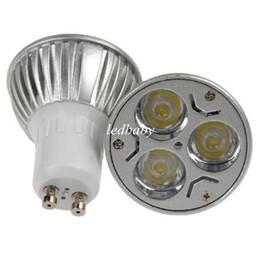 Downlight techo 12v online-CREE 3W 3x1W GU10 MR16 E27 GU5.3 Foco LED Bombilla Lámpara GU10 Foco 85-265V 110V Downlight Iluminación de techo CE ROHS UL