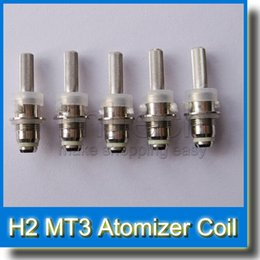 Wholesale H2 Bottom Coil - MT3 Coils for MT3 GS H2 MT4 H5 Protank1 2 Mini Protank1 2 for bottom dual coil Clearomizers with PREMIUM QUALITY GOOD SELLER