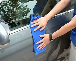 Canada 2015 New hot 30 * 70 CM Microfibre serviette serviette de nettoyage de linge produits de serviette de nettoyage des outils de poussière lave-auto auto fournit des accessoires de voiture Offre
