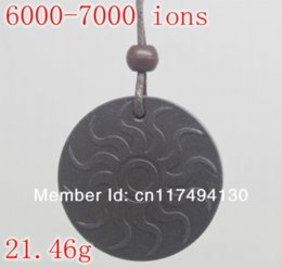 Wholesale Quantum Scalar Energy Necklace - free shipping Quantum Scalar Energy Pendant 6000 ~ 7000 ions with Test Video with Card for each pendant