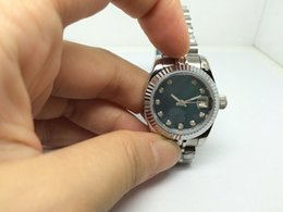 Wholesale Womens Watch New - New Fashion style watches womens automatic movement Diamonds dial wrist watch 087 for women