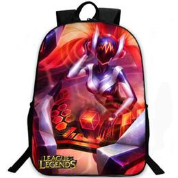 Wholesale Sona Legends - Sona Buvelle backpack Maven of the strings lol daypack League of Legends game schoolbag Leisure rucksack Sport school bag Outdoor day pack