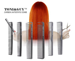 Wholesale Hair Plastic Salon - Hot Sale Hair Style Comb Hair Styling Tools Plastic Anti Static Professional Salon Comb High Quality Free Shipping