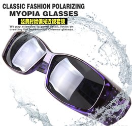 Wholesale Cycling Glasses Myopia - Wholesale-Polarized LensCovers Sunglasses Fit Over Sun glasses Wear Over Myopia For Outdoor Racing Sports Sunglasses Glasses Cycling