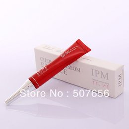 Wholesale lip tatoo - Free shipping 5pcs 15ml Cherry blossom essence lip repair gel for cosmetic tatoo-IPM