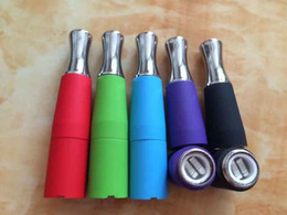 Wholesale Ego T Dual Coil - Dual Coil Skillet Vaporizer Wax Coil Vaporizer Colorful Skillet Vaporizer Atomizer for EGO D Series Ego-T Ego-vv EVOD Electronic Cigarette