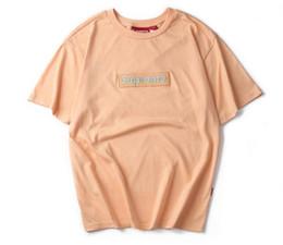 Wholesale Ape T - APE T Shirt fashion street shark head stitching camouflage printing 100% cotton men and women Hoodies skateboard short sleeve T-shirt