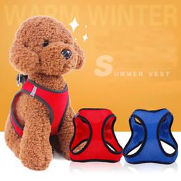 Wholesale Wholesale Small Spring Clips - Dog Safety Vest Harness, Pet Dog Adjustable Car Safety Mesh Harness Travel Strap Vest with Car Seat Belt Lead Clip.