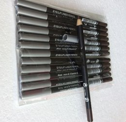 Wholesale Eyeliner Pencil Sets - 60 PCS set New Brand Makeup eyeliner 12 Diff color & black & brown eyeliner .Free shipping