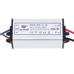 Wholesale Ip66 Led Driver - Wholesale-100-265V AC to 30-45V DC 10W LED Driver AC DC Adapter Transformer Switch Power Supply IP66 CE RoHs