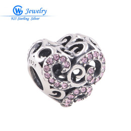 Wholesale Deals Sterling Silver Jewelry - China supplier beads factory crystal charm genuine 925 sterling silver jewelry super deal GW fine jewelry X165