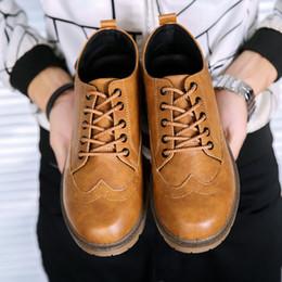 Wholesale Summer Dresses For Men - Men Shoes New Brand British Style Leather Men Shoe Retro Brogues Leather Oxford Shoes For Men Casual Dress Shoes High Quality Man Moccasin