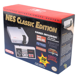 Wholesale Classic Gamepad - NTD NES Classic Edition Game Consoles with 30 games Nes Classic Mini with Game Controller Gamepad US EU version