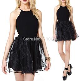Wholesale Hollow Worked Gowns - Celebrity Backless Summer Dress Women Chiffon Dress Plus Size M L Women Evening Dresses Criss Cross Ball Gown Club Dress 0874