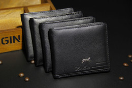 Wholesale Wallet Bifold - Cheap New PU Leather Men Wallets Purse & Bifold Brand Wallet Retro Design Style Purse For Men 2016 New Hot