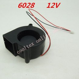 Wholesale Dc Brushless Blower - Wholesale- 6028 blower fan Cooling fan 12 Volt Brushless DC Fans cooler radiator