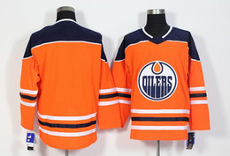 New Edmonton Oilers Jerseys Blank Jersey No Name 2017 New Brand Hockey  Jerseys White And Orange Color Size 48-56 Mix Order All Jerseys fdbf1149d
