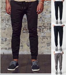 2019 calças extravagantes Atacado Hot-seller! Fancy Pants Estilo Jogger Cuff Homens elástico na cintura desenhar calças de corda Men Casual Big Size 28-34L alta qualidade desconto calças extravagantes