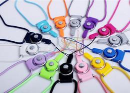 azionamento del usb del telefono delle cellule Sconti Corda di sospensione lunga girevole di nylon della cordicella del collo della cinghia staccabile girevole per la macchina fotografica del telefono cellulare iPod mp4 chiavetta USB della carta di chiavetta USB