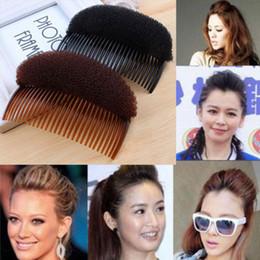 Wholesale Hair Bun Maker Clip - 1 X 2015 Hot Sale Women Girls Lovely Hair Styling Clip Stick Bun Maker Braid Tool Hair Accessories