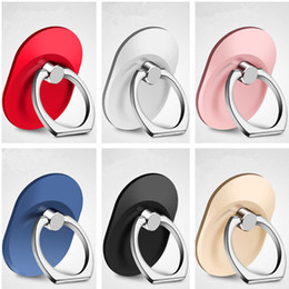 Wholesale Universal Cellphone Holder - Mobile Phone plastic Finger Ring Holder Stand 360 Degree Rotating Cellphone Holder for iphone 6 7 8 samsung tablet pc