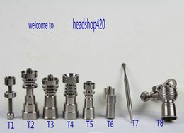 Wholesale Hot Water Pipe Price - 2015 sell like hot cakes Good price New titanium domeless nail 10mm 14.4mm 18mm for water Pipe glass bong Smoking