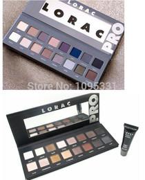Wholesale New Sky Pro - Wholesale-2 set lot 2015 New LORAC pro palette and Generation 2 lorac PRO palette 2 16 color eye shadow palette + eye primer makeup set