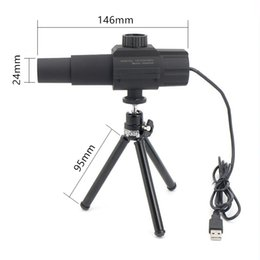 Wholesale Digital Camera Photograph - Freeshipping Smart Digital USB Telescope Monocular Adjustable Scalable Camera ZOOM 70X HD 2.0MP Monitor for Photographing Videotaping
