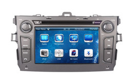 Wholesale Special Car Dvd Toyota Corolla - 2-Din Head Unit Car DVD Player GPS Navigation for Toyota Corolla 2006 2007 2008 2009 2010 2011 with Radio TV BT USB Stereo