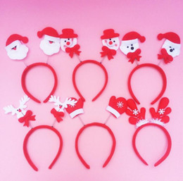 Wholesale Hair Items - Christmas Head buckle Hoop Lovely spring double style hair band decorations Christmas items free shipping CH01002