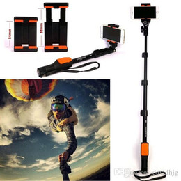 Wholesale Remote Control Gopro Hero - 2015 Yunteng YT-1288 Selfie Monopod Extendable Pole with Shutter Remote Control Clip Tripod Mount for Iphone 6 Smart Phone Gopro Hero