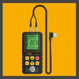 Wholesale Ultrasonic Thickness Meter Gauge Velocity - Ultrasonic Thickness Gauge Tester Meter Range 1.2-225mm Sound Velocity Measure Data Storage AR850+