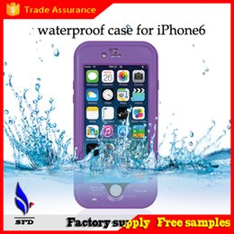 Wholesale Waterproof Covers For Galaxy S4 - red pepper Waterproof Shockproof dirtyproof case full cover For Iphone 4S 5S 5C 6 6S Plus Samsung Galaxy S3 S4 S5 S6 Note 2 3 4