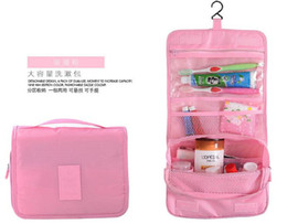 Wholesale Beverage Quality - Six Style High Quality Lady MakeUp Pouch Cosmetic Make Up Bag Clutch Hanging Toiletries Travel Kit Jewelry Organizer Casual Purse
