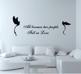 Wholesale Wall Decals China - Free shipping home decoration removable Wall Decal black birds china Wall Stickers Vinyl stickers home decor Quote