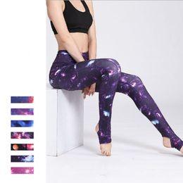 Silanda Sports Sexcer Floral Imprimé Pantalons De Yoga Femmes Yoga Leggings Taille Haute Gym Fitness Leggings Sports Leggings Running Collants ? partir de fabricateur