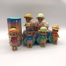 Wholesale Cheap Plastic Baby Dolls - Cheap and high quality ! limited edition lol surprise 6 pcs sonny angle plastic dolls with hats FOR babies toy with retail carton package
