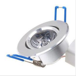 Farbe wechselnde lampe deckenleuchte online-3W RGB LED Downlight Fernsteuerungsfarbe, die LED-Deckenleuchte-Licht-Haus-vertiefte Lampe 90-260V ändert Freies Verschiffen