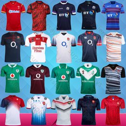 Wholesale Irish Rugby Shirt - free shipping 2017 France England RLWC Scotland Wales rugby jersey 2018 17 home rugby shirts Irish Ireland jerseys Best quality adult S~XXXL