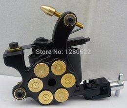 Wholesale Bullet Tattoo Machine Gun - Wholesale-2pcs Bullet rotary tattoo machine for beginners gun maquinas rotativas tatuagem maquina de tattoo red black blue yellow