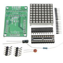 Wholesale Max7219 Dot Matrix Module Display - 2016 Newest Excellent Quality for MAX7219 8x8 Dot Matrix Module MCU Control Display Board Kits Set For Arduino DIY