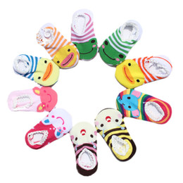 Wholesale Summer Infant Sale - Hot Sale Baby Short Socks Infant Antislip Socks Baby Antiskid Sock Baby Wear Cotton Free Shipping