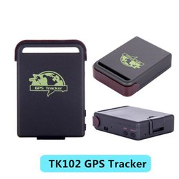 Wholesale Real Time Gps Gsm Gprs - Hot Selling Personal Car GPS Tracker TK102 Mini Quad Band Global Tracker Real Time GSM GPRS GPS 4 Bands Tracking Device
