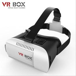 "Wholesale Helmet Google - 2015 Google Cardboard Plastic VR BOX Virtual Reality VR Glasses 3D High Quality 3D Helmet Phone Glasses for 4.7""-6"" Smart Phones"