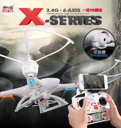 Wholesale Add Motor - Free shipping MJX X400-V2 2.4G RC quadcopter drone rc helicopter 6-axis can add C4005 camera(FPV) quadcoptepr