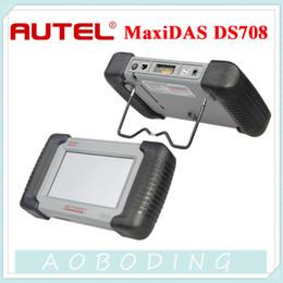Wholesale Website Auto - 2015 Professional Auto Scanner Autel MaxiDas DS708 Support Free Update Autel official website with Multi Language