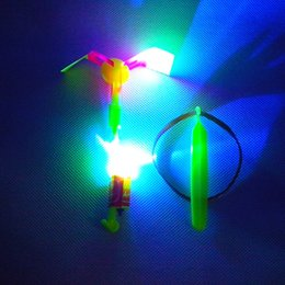 Wholesale Arrow Products - LED amazing arrow helicopter light up flying arrow new product new toy lowest price flying arrow,new toy TY376