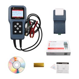 Wholesale Multi Tester Digital - free shipping auto digital battery system tester MST8000+high accuracy for 12V&24V with color LED display & printer-- multi language