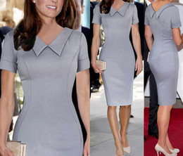 Wholesale Hot Selling Ebay - 2017 Amazon burst sale hot, eBay wish women's fast selling Kate Middleton with the same type of European and American dress